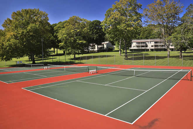 Hideaway Valley Condominiums Tennis Court