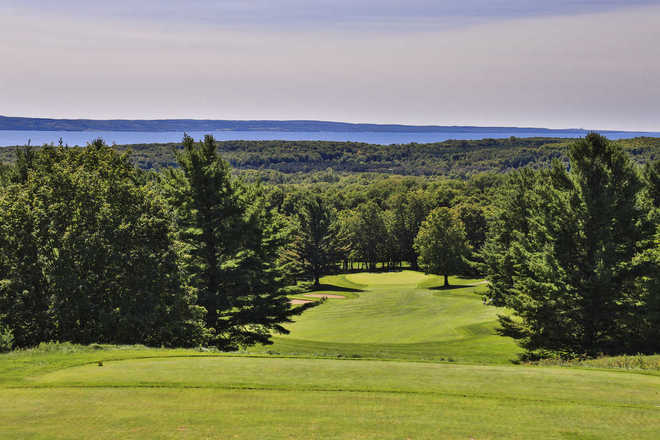 Hideaway Valley View of Little Traverse Golf Course