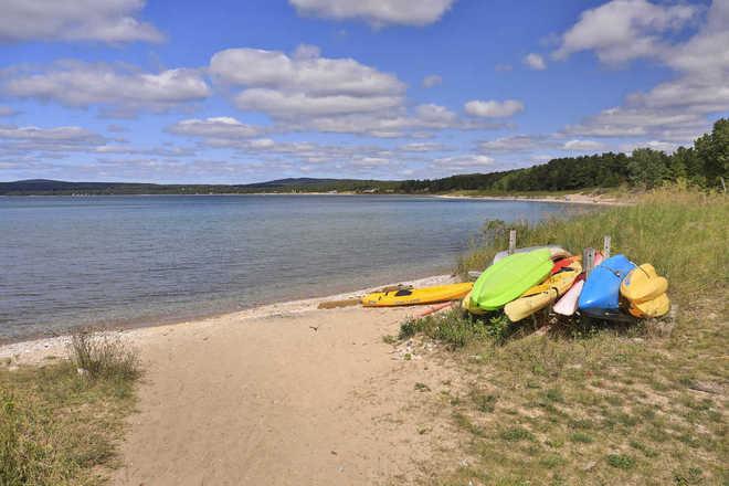 Tannery Creek Condominiums Private Lake Michigan Beach